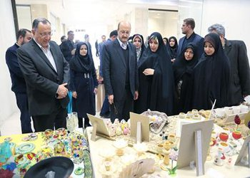 نمایشگاه دستاوردهای زنان سرزمین من افتتاح شد