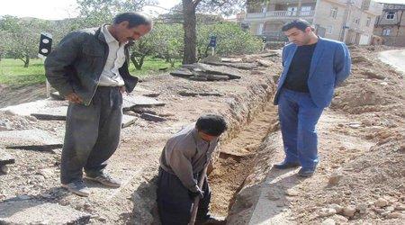 اتمام ۵ پروژه آبرسانی به روستاهای شهرستان تفرش