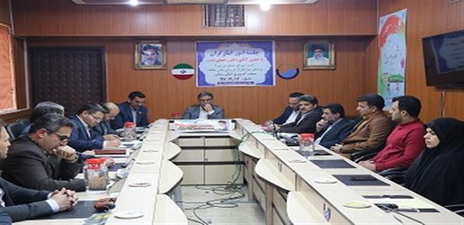 حضور مشاورامور ایثار گران  در شرکت آبفای شهری استان سمنان