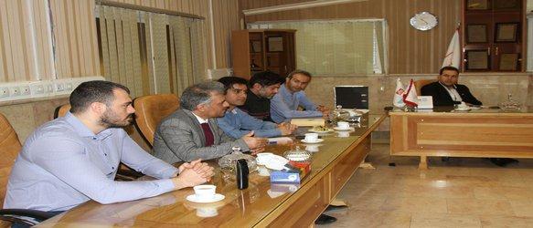 بازدید جمعی از اعضای هیات مدیره سازمان از کارخانه  و خط تولید در باز کن های تک نما و جک های برقی محک