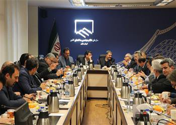 برگزاری جلسه ۲۳۷ شورای مرکزی  باحضورمعاون وزیر راه وشهرسازی
