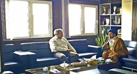 بررسی وضعیت زیست محیطی استان  در دیدار رئیس مجمع نمایندگان و مدیرکل حفاظت محیط زیست استان اصفهان