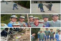 اقدام خودجوش دانش آموزان دوستدار محیط زیست در استان یزد