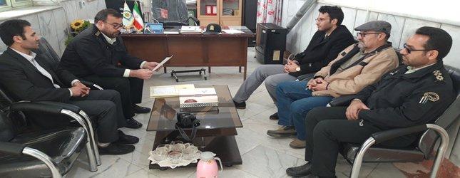 جلسه هماهنگی بازگشایی بستر رودخانه دندی چای در پاسگاه انتظامی شهر دندی برگزارشد.