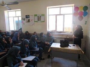 اجرای طرح داناب در یکی از مدارس شهرستان فهرج