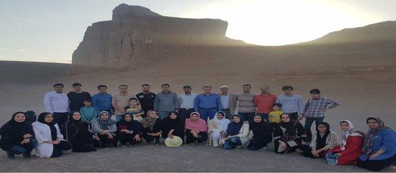 برگزاری گلگشت خانوادگی در شرکت توزیع نیروی برق جنوب استان کرمان