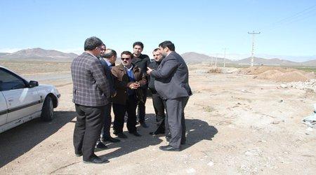 بازدید فرماندار تاکستان از سطح شهر جهت هماهنگی و اقدامات فوری در آستانه سال نو