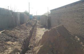 آغاز عملیات اجرایی شبکه توزیع آب شرب روستای کاریزک خلیل آباد با اعتباری بالغ بر ۲۲۵ میلیون تومان