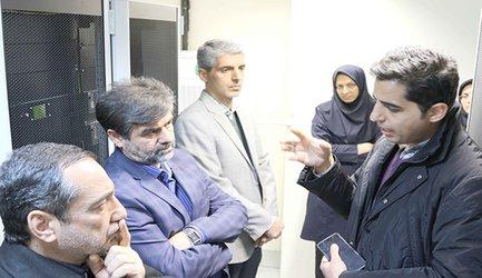 بازدید مدیر عامل و معاونین از مرکز داده جدید شرکت برق منطقهای اصفهان