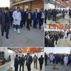 بازدید شهرداران استان خوزستان از کشتارگاه صنعتی دام در خرمشهر