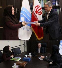 نشست مدیرعامل شرکت آب منطقه ای زنجان با مدیرعامل سمن همراهان سبز اندیش استان