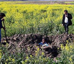 تعمیر شکستگی خط انتقال روستای مازیاران شهرستان رامیان