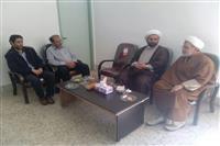 بازدید امام جمعه شهرستان قاین از اداره حفاظت محیط زیست