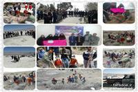 اجرای برنامه بی زباله در آباده طشک فارس