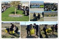 اجرای طرح بی زباله در فیروزآباد فارس