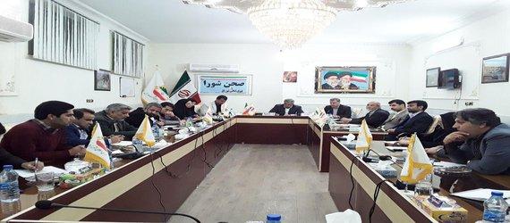 نشست خبری اصحاب رسانه استان سیستان و بلوچستان با اعضای شورای شهر و شهردارزابل