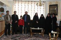 دلجویی از خانواده شهید محیط بان عبدالله یاری به مناسبت روز شهدا