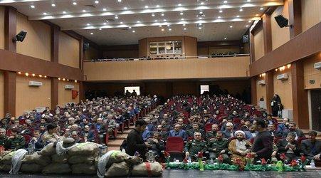 مراسم روز شهدا و ایثارگران در شهر میانه