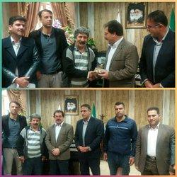 برگزاری آئین تکریم شهردار بروجرد به مناسبت فرارسیدن ۲۵ اسفند ماه، روز شهردار