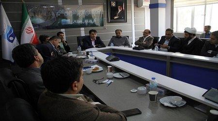 سومین جلسه شورای معاونین  و مدیران  شرکت آب منطقه ای البرز برگزار شد