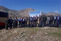 اجرای طرح دوباره بی زباله در۸ شهرستان کهگیلویه وبویراحمد