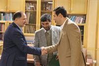 مراسم معارفه رییس جدید اداره  حفاظت محیط زیست شهرستان رشت