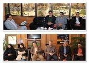 دیدار رئیس و اعضای شورای اسلامی شاهین شهر با شهردار شهر به مناسبت روز شهردار