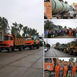برگزاری دومین مانور خدمات شهری شهرداری خرمشهر با عنوان طرح استقبال از بهار.....