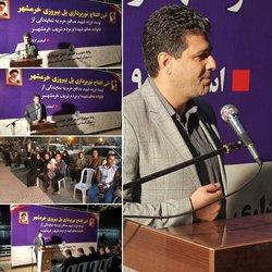 آئین افتتاح پروژه نورپردازی پل قدیم به طول ۶۰۰ متر توسط شهرداری خرمشهر