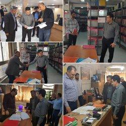 بازدید سرزده شهردار خرمشهر از شهرداری های مناطق در روز جمعه