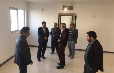 بازدید از پروژه مسکن مهر شرکت تهران قومس