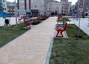طرح رنگ آمیزی و زیباسازی مبلمان پارکی اجرا شد