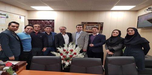 روابط عمومی منطقه دو: تبریک روز شهردار به جناب مهندس کامران راد مدیر منطقه دو شهرداری رشت