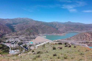 ۵ سد استان کردستان در حال سر ریز شدن هستند
