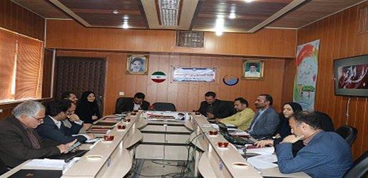 آخرین جلسه کمیسیون توسعه مدیریت  در شرکت آبفای شهری استان سمنان برگزار گردید