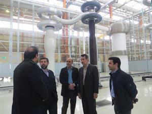 بازدید استاندار و مدیرعامل برق منطقه ای خوزستان از روند آماده سازی پست های GIS