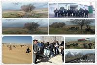 تفرجگاه مسجد بین راهی الزهرا دشت مرغاب پاکسازی شد.