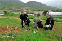 دومین مرحله پاکسازی و اجرای طرح دوباره بی زباله در کهگیلویه وبویراحمد