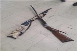 دستگیری شکارچیان متخلف در شهرستان بندرگز پیش از اقدام به شکار