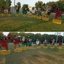 نصب چهار سفره هفت سین توسط شهرداری خرمشهر