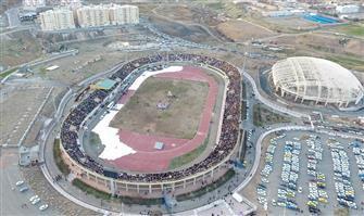 مراسم جشن شب نوروز چهارشنبه  ۲۹ اسفند ماه در ورزشگاه ۲۲ گولان سنندج برگزار می شود