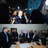 حضور سرزده وزیر نیرو در نیروگاه شهدای پاکدشت/ بازدید از پست امداد آب و فاضلاب ناحیه مشیریه تهران