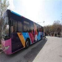 ۸ دستگاه اتوبوس در باغ فدک در جابجایی مسافران نوروزی خدماترسانی میکند