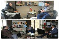 دیدار نوروزی مدیرکل حفاظت محیط زیست با رئیس سازمان مدیریت و برنامهریزی استان کرمان