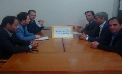 برگزاری جلسه ستاد مدیریت بحران شهرداری آذرشهر