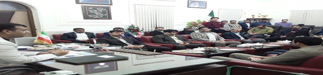 دیدار عیدانه مدیران و پرسنل شهرداری و سازمانهای تابعه با شهردارزابل