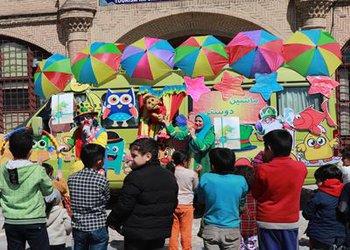 اجرای برنامه شاد نوروزی توسط کاروان ماشین دوستی»در قزوین