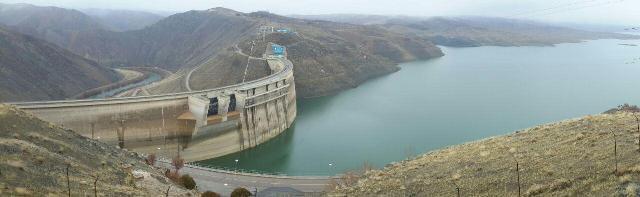 ذخیره سد زایندهرود اصفهان به ۱۸۷ میلیون مترمکعب رسید