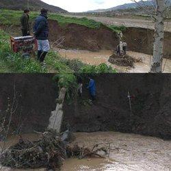 خسارت ۱۲۸۰۰میلیارد ریالی تاسیسات آبرسانی گالیکش از سیل گلستان