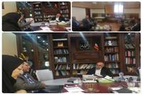 نشست مشترک مدیرکل حفاظت محیط زیست و رئیس سازمان مدیریت و برنامهریزی با حضور استاندار کرمان